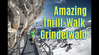 New Swiss Attraktion: First Cliff Walk by Grindelwald / Berner Oberland
