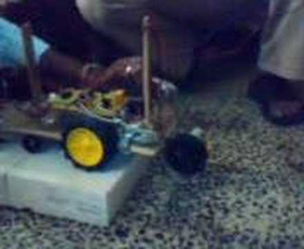 AAROHI THE STAIR CLIMBING ROBOT CAR