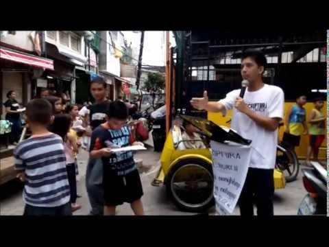 Street Preaching Damka Street Brgy 598 Sta Mesa
