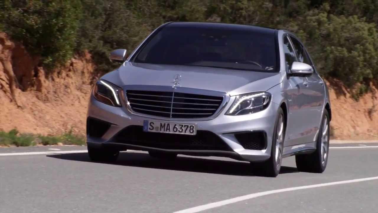 Mercedes benz 2014 s 63 amg road hd trailer youtube for Mercedes benz glk amg