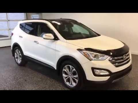 Hyundai Santa Fe AWD 2014 - 18030A - Vidéo de l'intérieur et l'extérieur - Mercedes-Benz Granby