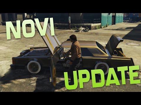 NOVI UPDATE & NOVI LOWRIDERI ! Grand Theft Auto V - NOVI UPDATE !