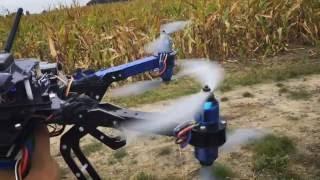 Szacowanie szkód łowieckich z wykorzystaniem drona