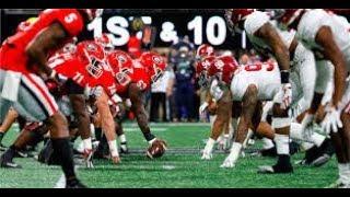 Georgia Vs Alabama 2018 SEC Championship Hype [Unstoppable] Sia [HD]