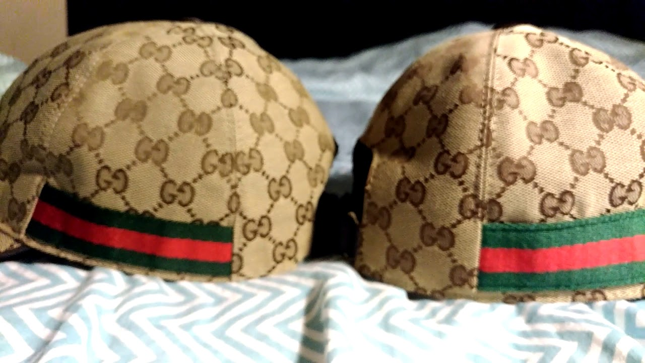 Gucci Hat Fake vs Real In Depth - YouTube 73908fadd09