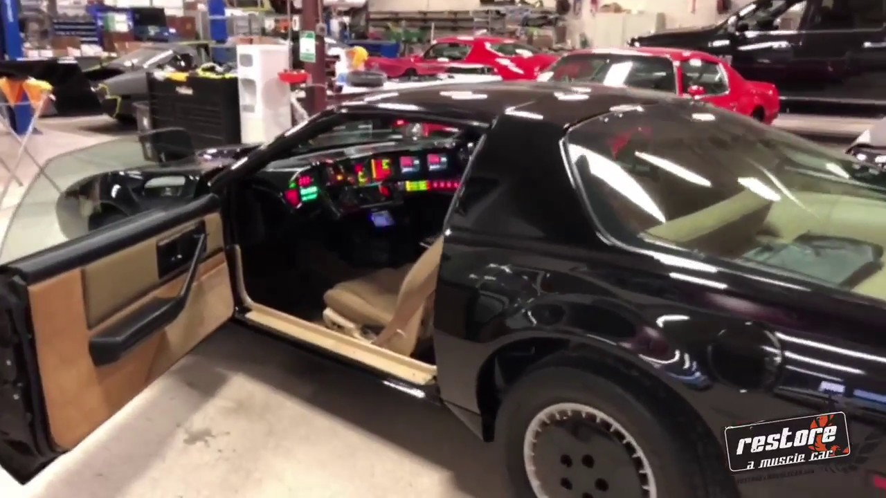 Firebird Knightrider Replica Kitt Car Stock YouTube - Restore a muscle car car show