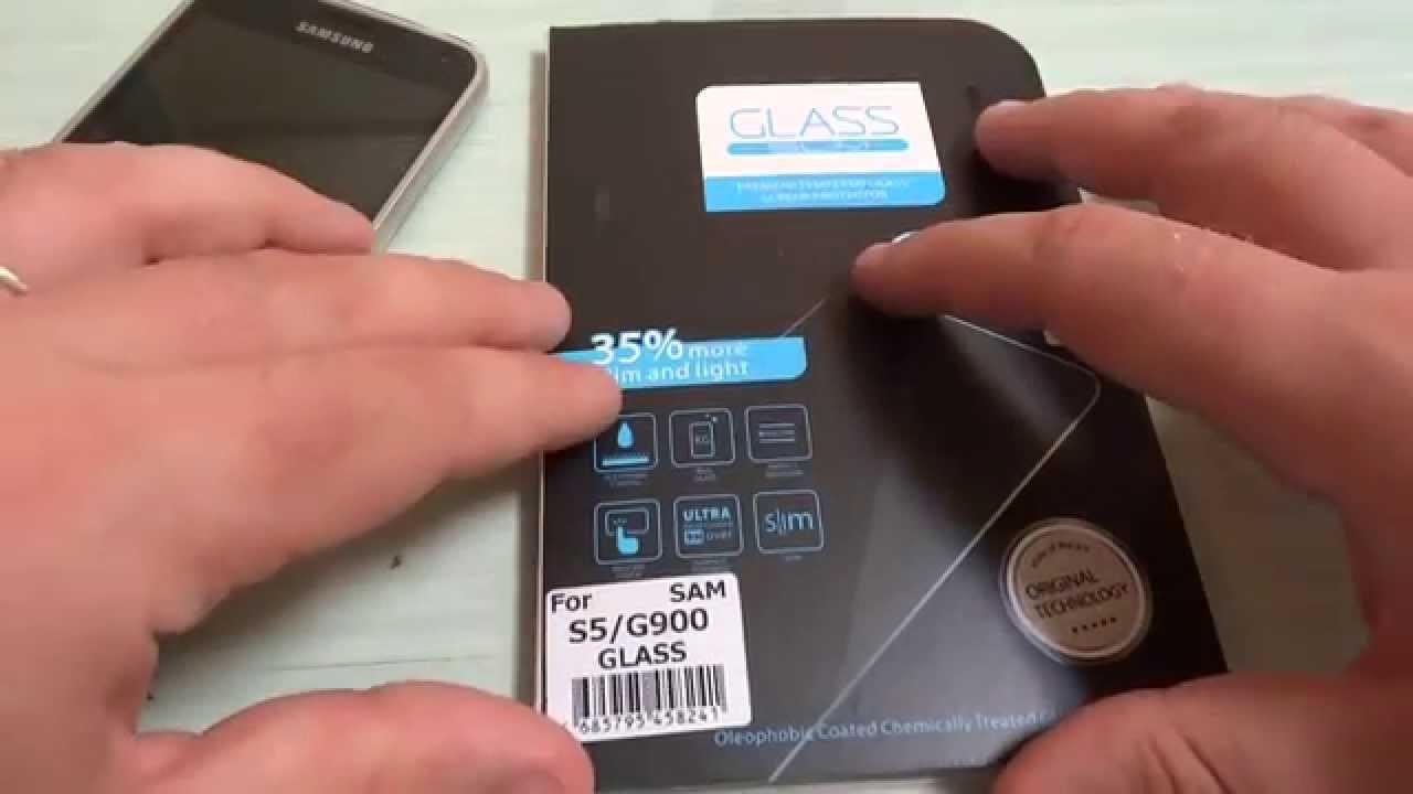 Applicazione pellicola in vetro temperato per Smartphone - YouTube