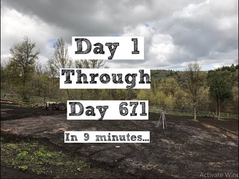 671 Day Timelapse Of Building Our Homestead (From Scratch)