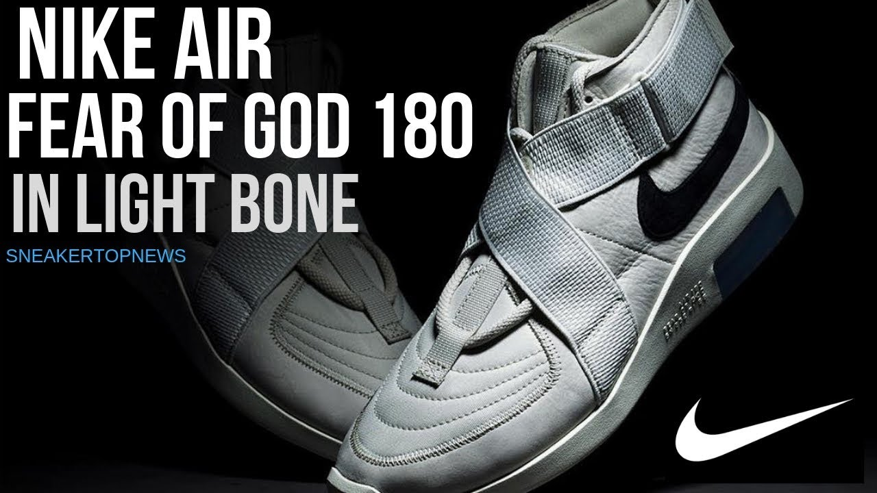 a4ab53cbc247 Fear Of God And Nike To Release Air FOG 180 In Light Bone
