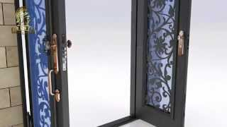 Installation of Loyal Iron Doors