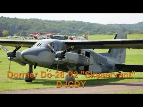 Dornier Do 28 D2 Skyservant D-IRES - Takoff & Display @ Hahnweide 2013