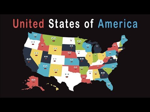 50 States Song/50 States And Capitals Song For Kids