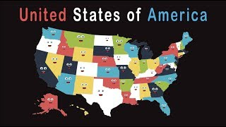 50 States Song for Kids/50 States and Capitals Song for Kids