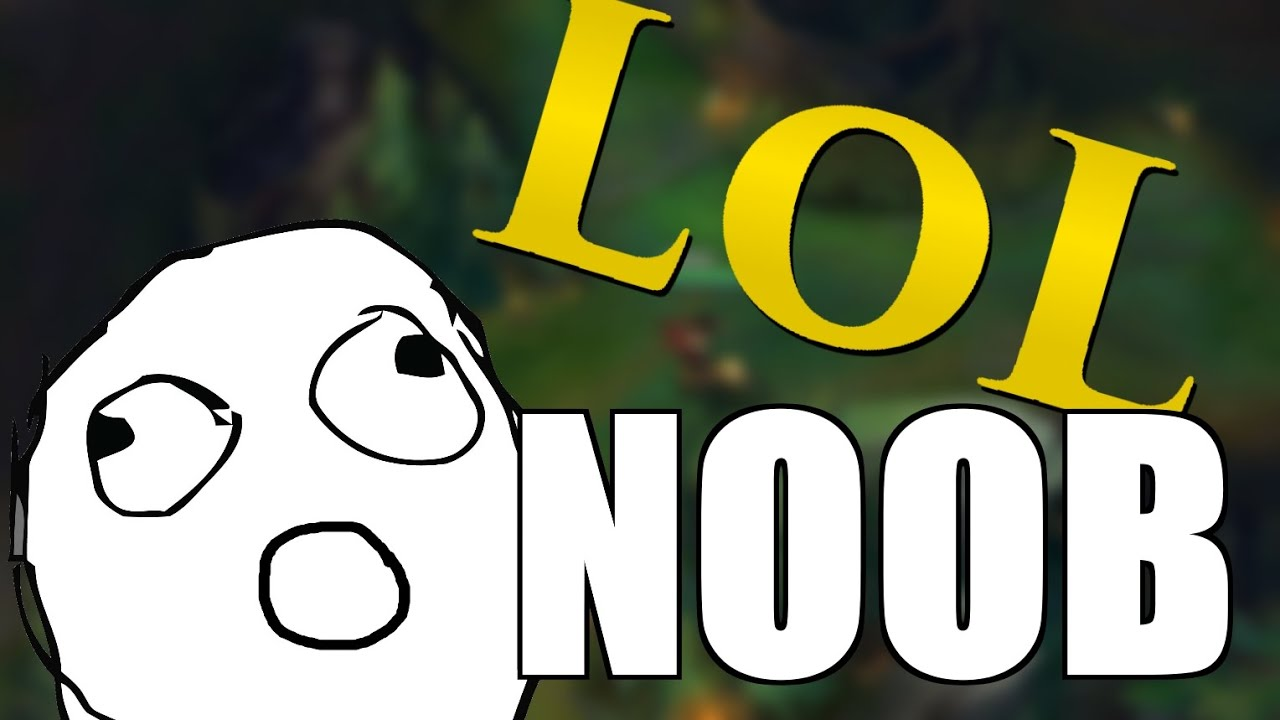 When A Noob Plays LoL | First Time Playing League of Legends - YouTube