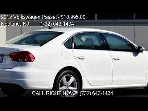 2012 Volkswagen Passat 2.5 SE for sale in Neptune, NJ 07753