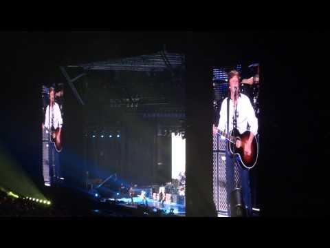 Paul McCartney 32 LOVELY RITA 04/05/13 BH Mineirão Belo Horizonte Brazil 5-4-2013 Beatles