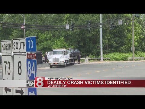 Police identify the 2 people killed in the Waterbury car accident - Dauer: 24 Sekunden