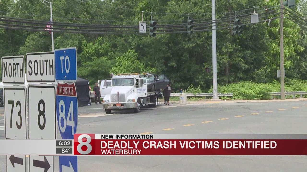 Police identify the 2 people killed in the Waterbury car accident