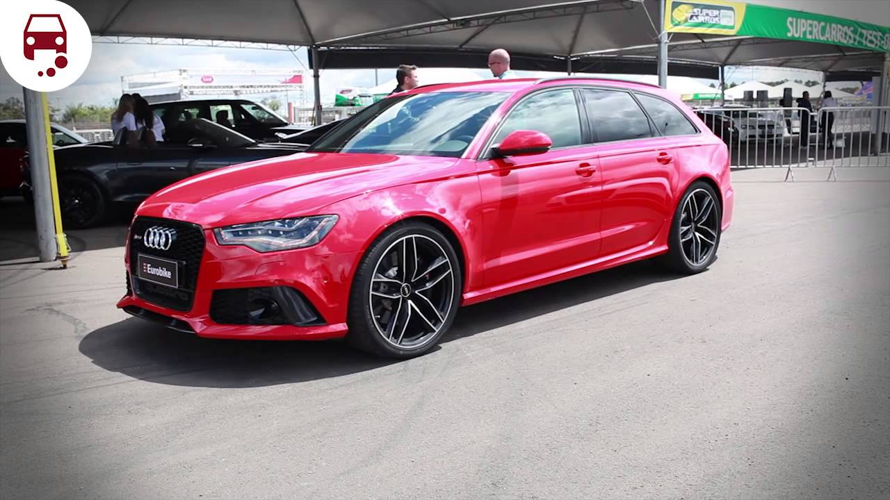 Test Drive Audi Rs6 Avant A Perua Mais R 225 Pida Do Mundo