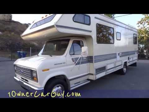 RV Motorhome Camper Gulf Stream Ultra Coach Campervan Ford Class C B Project 2 Renovate Video