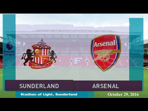 Sunderland vs Arsenal 1-4 All Goals & Highlights 29/10/2016 | Cuplikan Gol Premier League 2016/2017