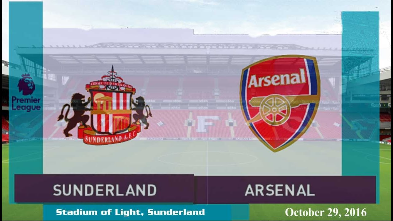 Download Sunderland vs Arsenal 1-4 All Goals & Highlights 29/10/2016 | Cuplikan Gol Premier League 2016/2017