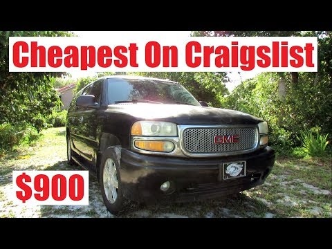 I Bought the Cheapest Yukon Denali XL on Craigslist
