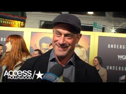 Christopher Meloni On The  Reaction To His Selfies With Mariska Hargitay!  Access Hollywood