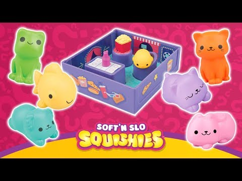 Soft'n Slo Squishies Peel 2 Reveal from ORB! | A Toy Insider Play by Play
