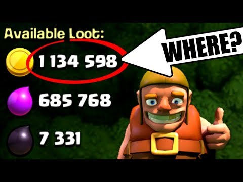 I HIT THE JACKPOT!!!! 🔥 Clash Of Clans 🔥 THIS LOOT IS REAL!!