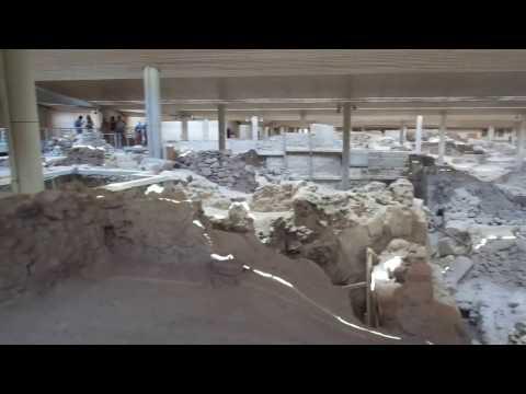 Akrotiri Settlement (Santorini, Greece) part 1