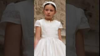 """Vestido de comunión """"Pastora"""" - Miquel Suay - colección 2017"""