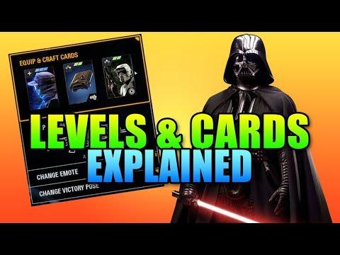 How Levels & Cards Work | Star Wars Battlefront 2