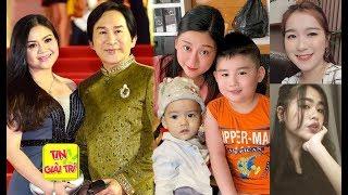 Vợ Trẻ Đẹp và 5 Người Con Ruột của NSƯT Kim Tử Long - TIN GIẢI TRÍ