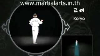 Taekwondo Poomse Koryo