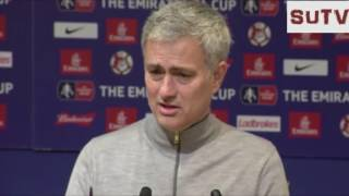 Manchester United Vs Hull City - Jose Mourinho Pre-Match Press Conference - EFL Cup Semi-Final