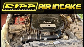 Best Wrangler JK 3.6L Intake | How to Install Ripp Cold Air Intake