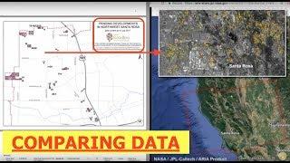 Santa Rosa Fires Defies the Laws of Physics & Compliments UN Agenda 21 Program