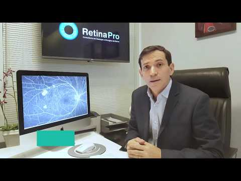 Видео Exame retinografia fluorescente