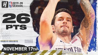 JJ Redick Full Highlights vs Warriors (2019.11.17) - 26 Pts, 6 Threes! Video