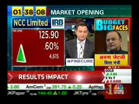 Kiran Jadhav, Technical Analyst, KiranJadhav.com on CNBC Awaaz 31st Jan 2018