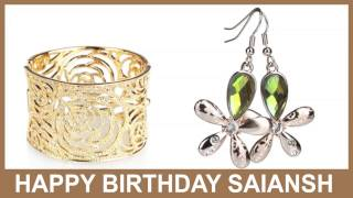 Saiansh   Jewelry & Joyas - Happy Birthday