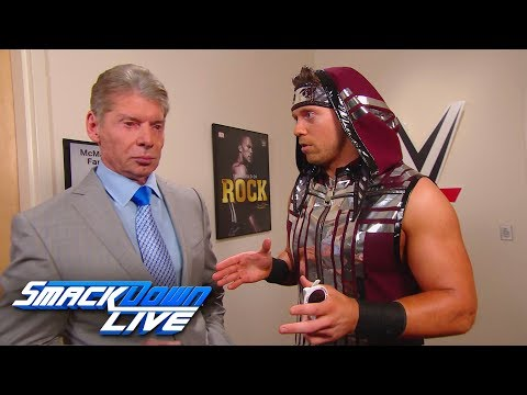 The Miz asks for Mr. McMahon's blessing to team with Shane McMahon: SmackDown LIVE, Dec. 18, 2018