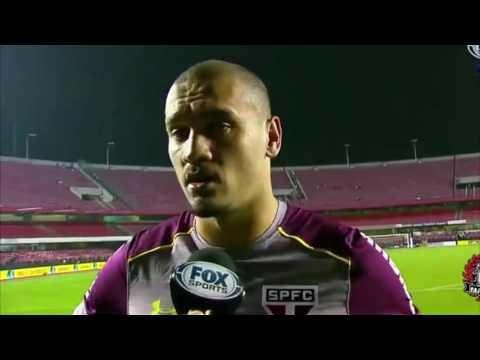 Peso da CAMISOLA - Entrevista Maicon - São Paulo 1 x 2 Juventude - Copa do Brasil 2016