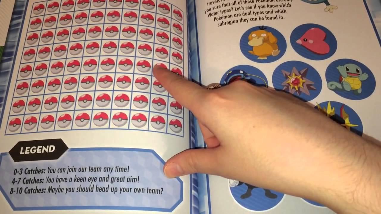 how to make a pokedex book