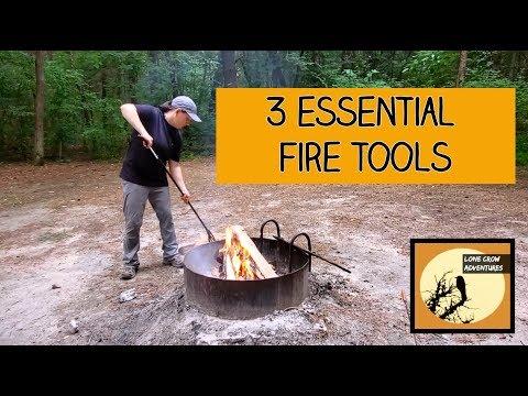 Best Fire Starter & 3 Essential Fire Tools