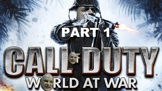 Hitler plays Call Of Duty World At War Part 1 - Semper Fi