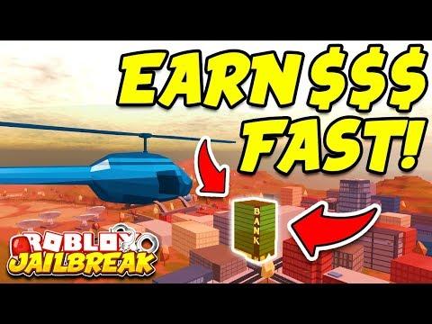 Roblox Jailbreak HOW TO GET 1 MILLION DOLLARS FAST!! (Make Money Fast in Jailbreak!)