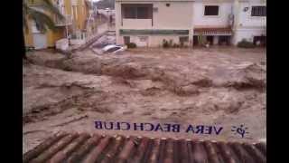 Inundación Vera Playa - Pueblo Laguna 28-09-2012 Parte 7 Hora: 11:51 am