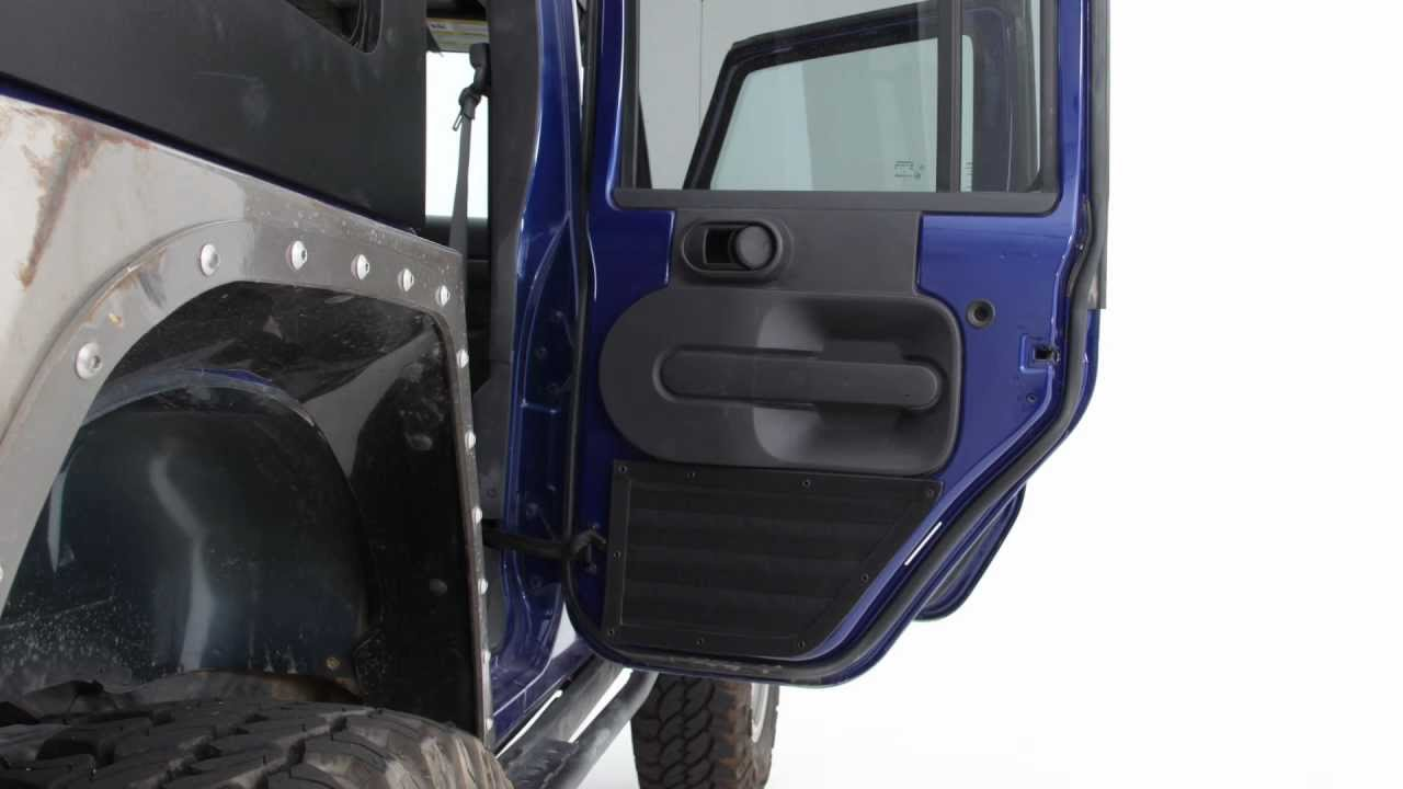 Smittybilt Gear Door Panels For Jeep Wrangler Youtube